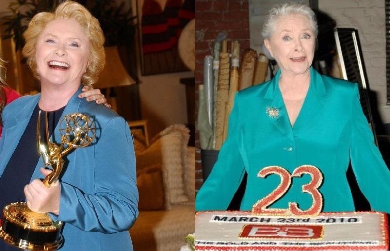Susan Flannery ieri e oggi
