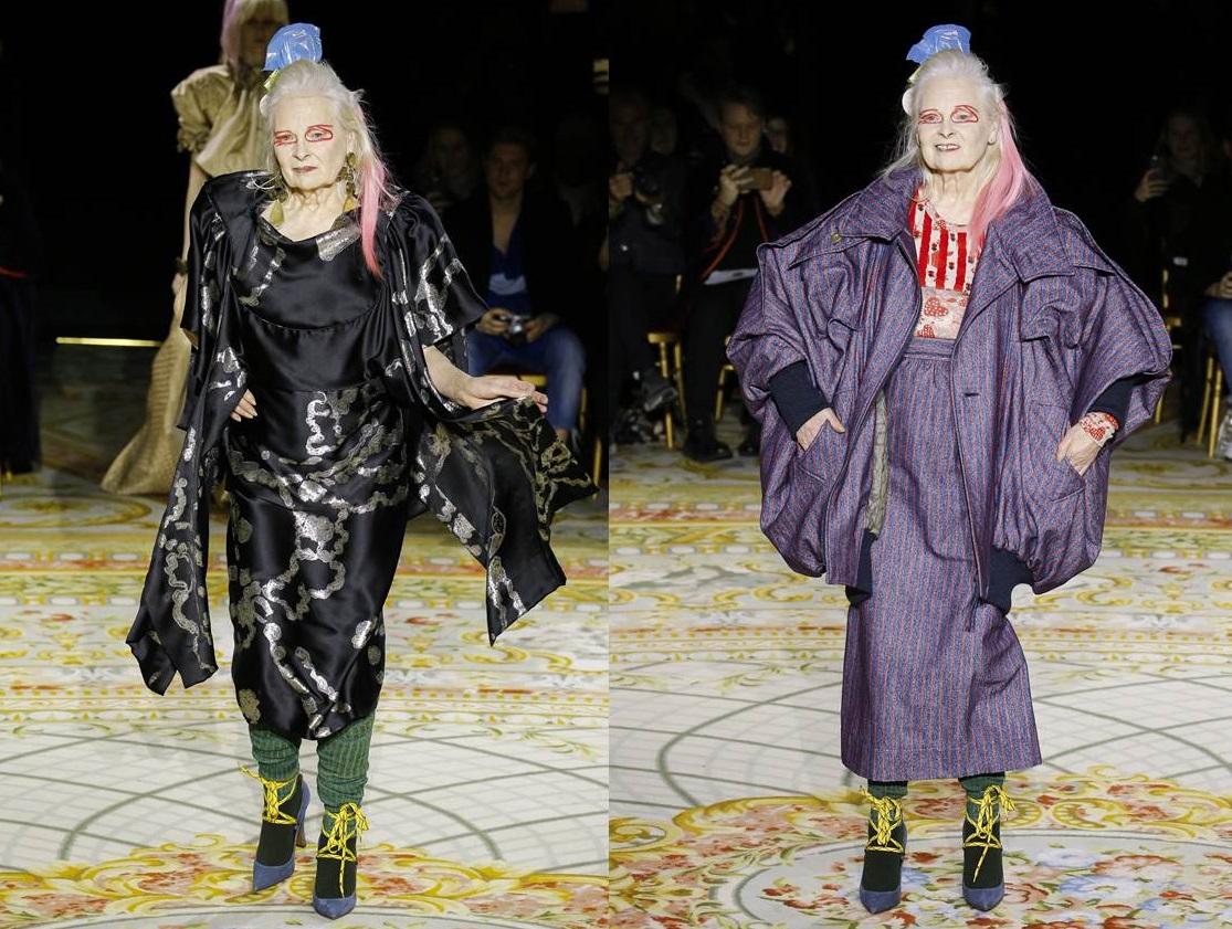 Vivienne Westwood sfila per la collezione invernale
