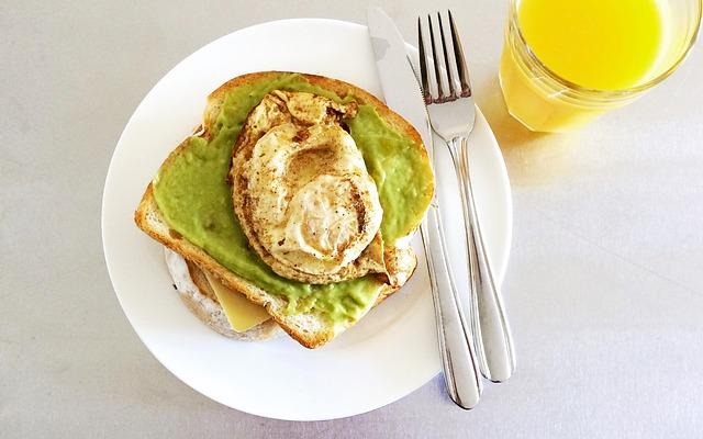 colazione salata dietetica