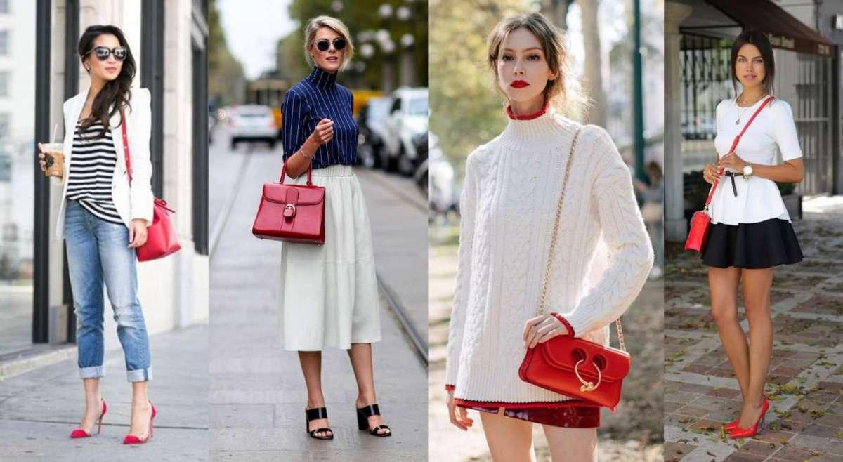 Come Consigli foto Rossa Abbinare La Fashion Borsa Look Per OIwrOqH