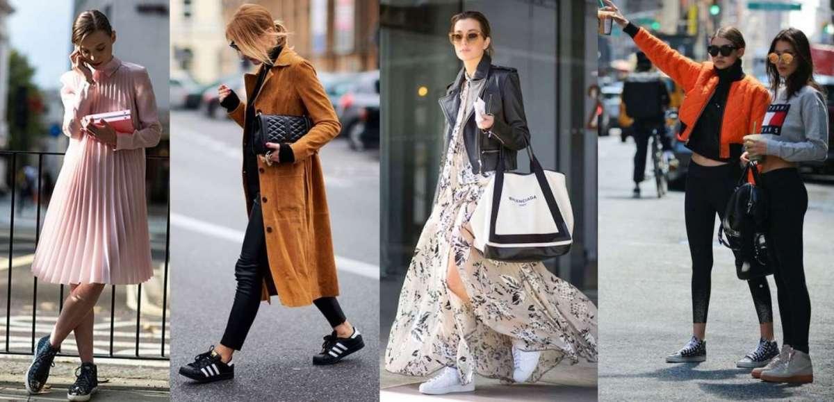 Con Più SneakersI Look Fashion Le Abbinare Come Scarpe Da 1KlFJc