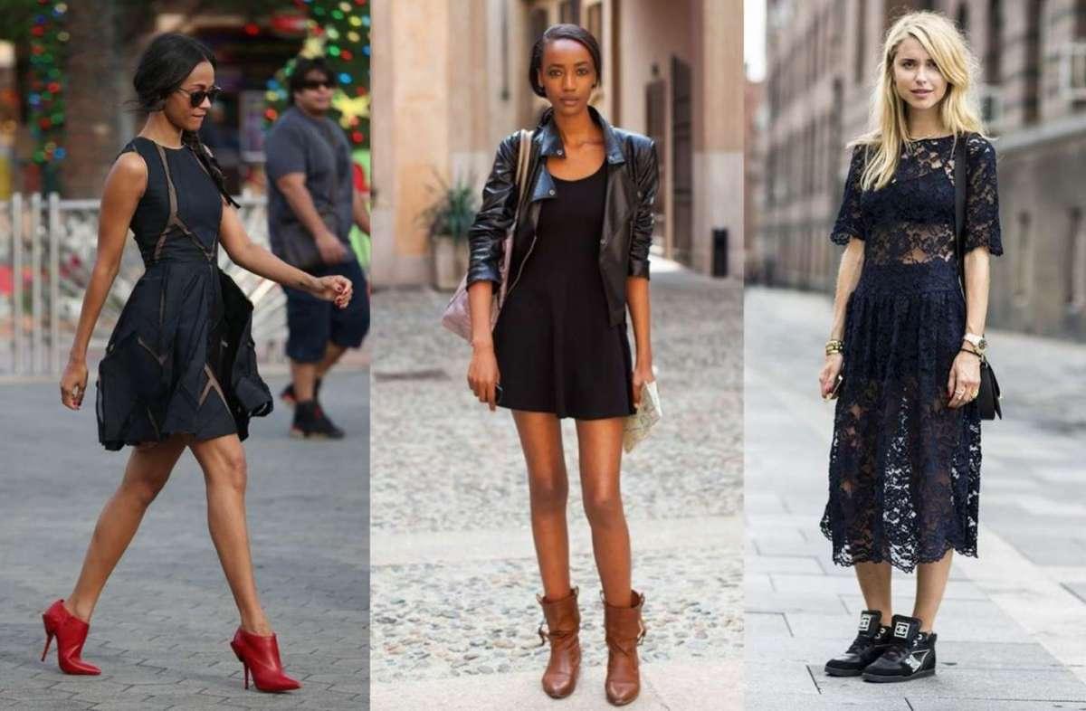 5459c2f45fcf Come abbinare un vestito nero  consigli per outfit raffinati e trendy  FOTO