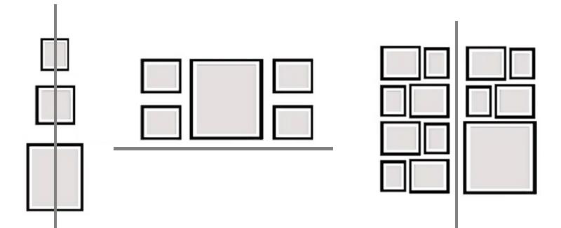 come posizionare quadri3