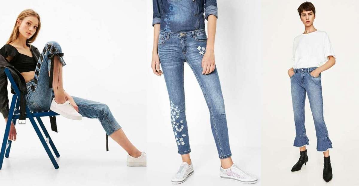 Jeans donna, le tendenze per la Primavera/Estate 2017 da non perdere [FOTO]