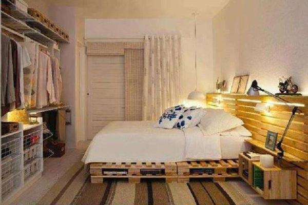 Letto Di Pallets : Bancali di legno l arredamento dalle idee di riciclo creativo