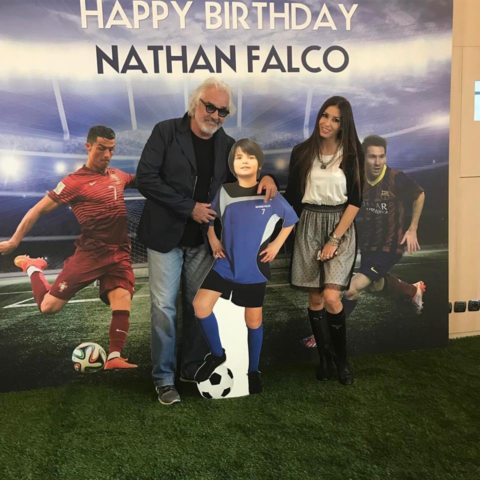 Nathan Falco Briatore compie 7 anni: la festa di compleanno è vip