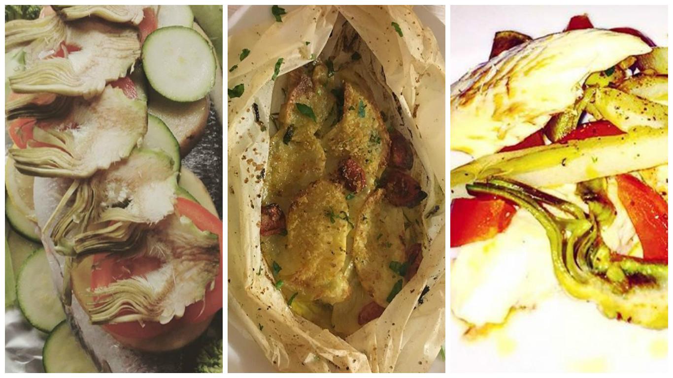 Orata al cartoccio con carciofi e patate: la ricetta light e sfiziosa