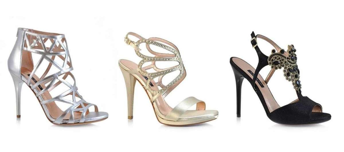 Sandali nuova collezione di scarpe in linea