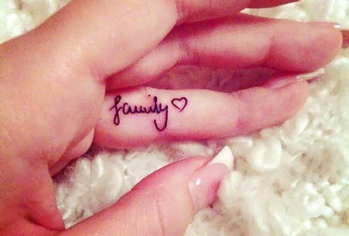 tattoo famiglia