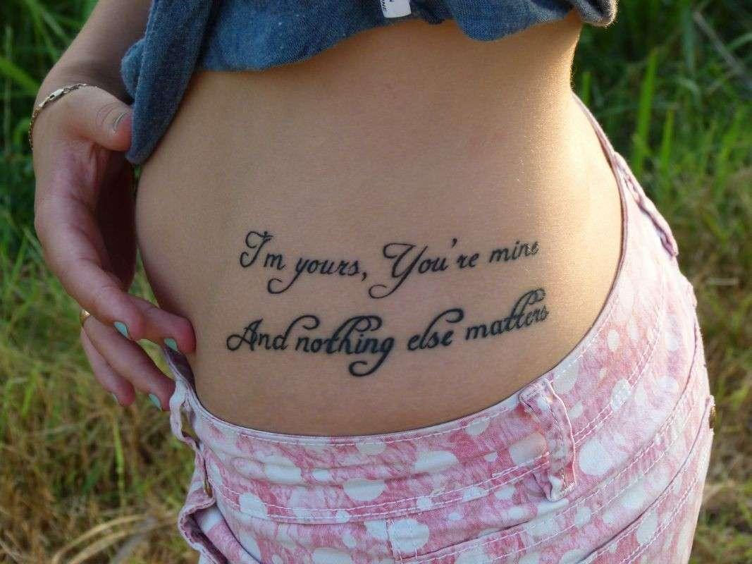 Le frasi per tatuaggi con un significato profondo e for Tatuaggi dedicati ai figli frasi