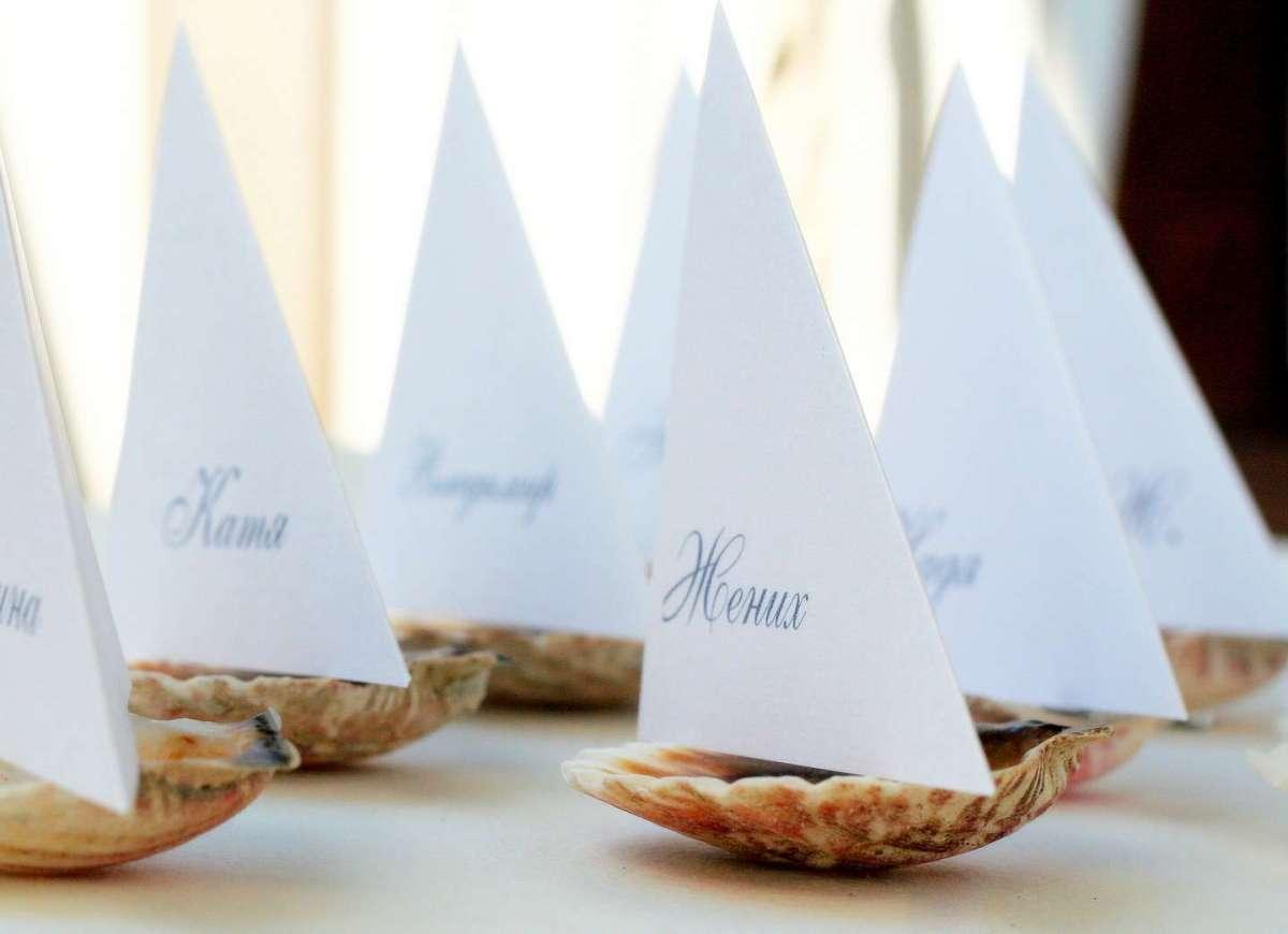 Segnaposto Matrimonio Tema Napoli : Decorazioni per il matrimonio a tema mare idee e consigli