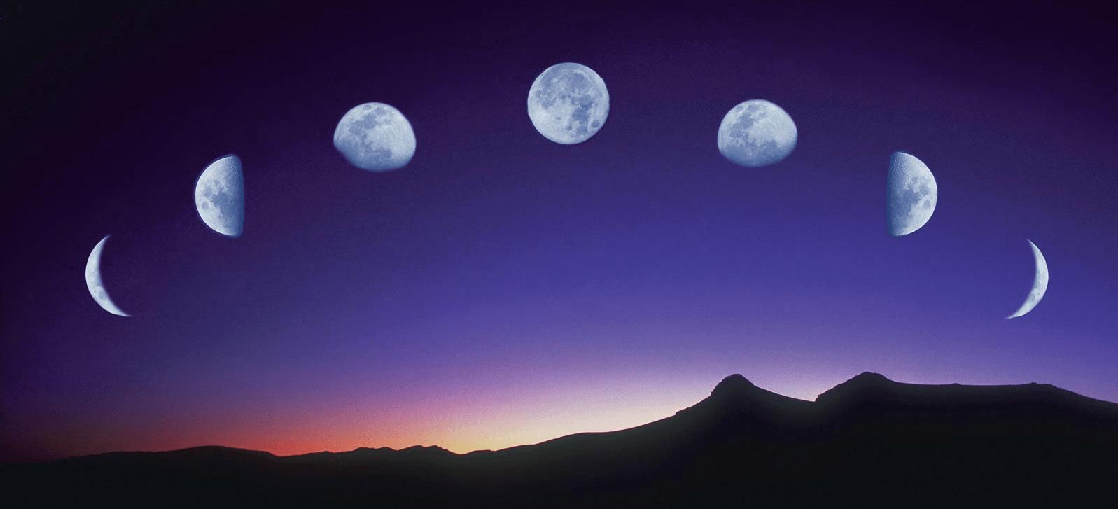 Calendario Lunare 2005.Luna E Parto Come Influiscono Le Fasi Lunari Pourfemme