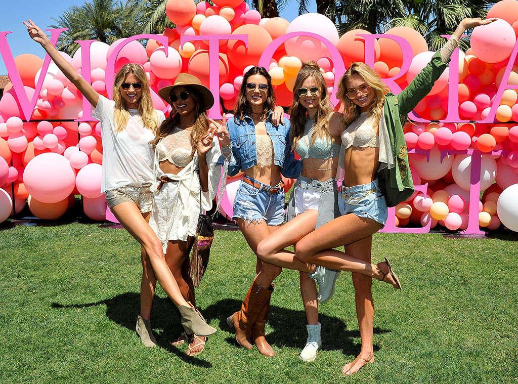 Le modelle di Victoria's Secret Jasmine Tookes, Alessandra Ambrosio, Josephine Skriver e Romee Strijd