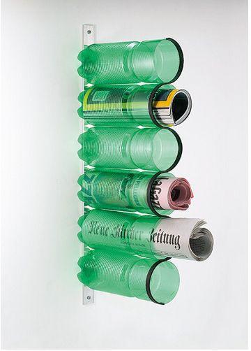 Portariviste con le bottiglie