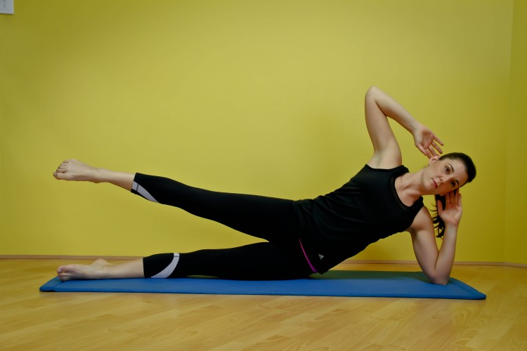 Side kick pilates