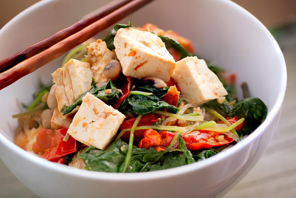 dieta lemme vegetariana tofu e verdure