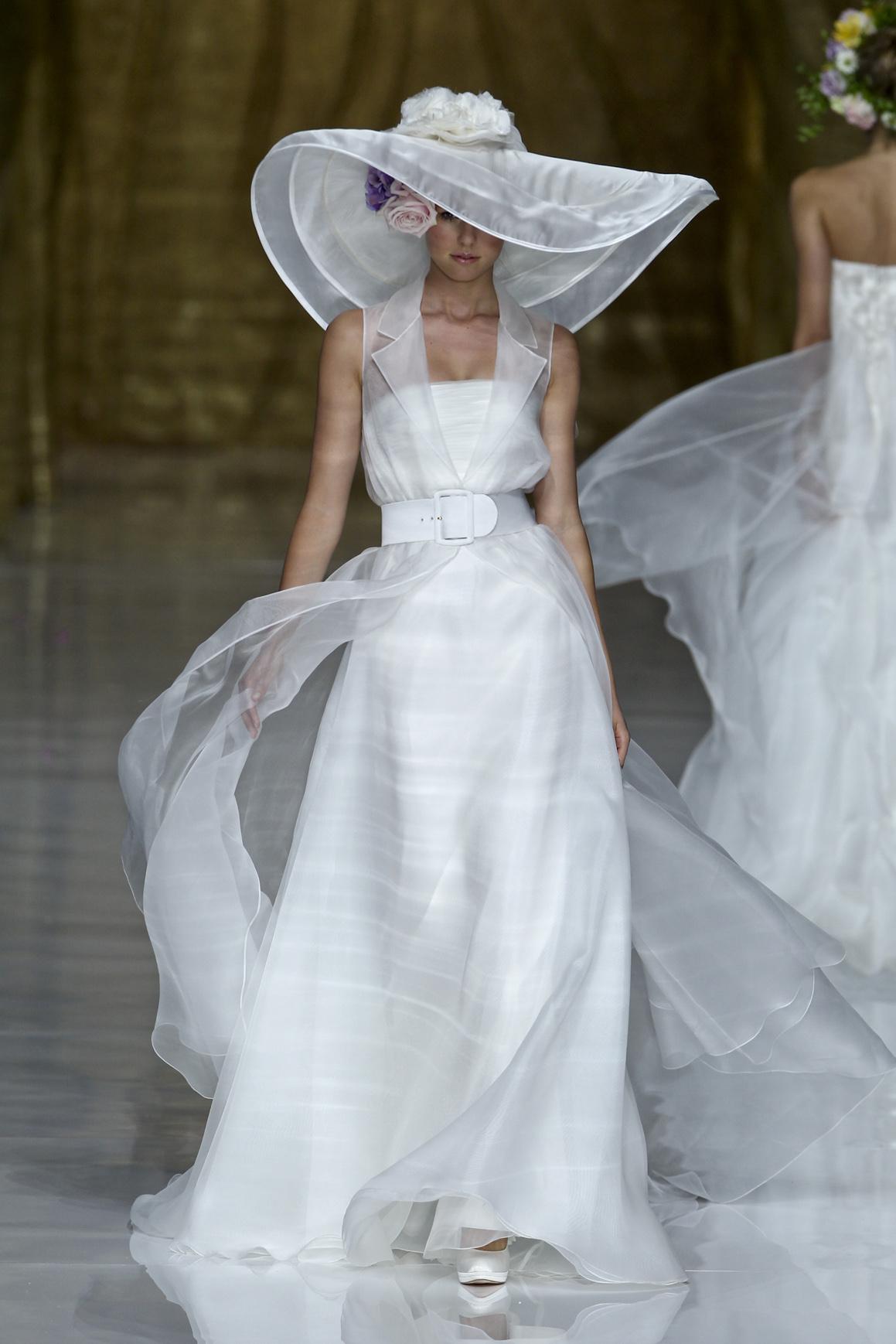 cappello da cerimonia da sposa