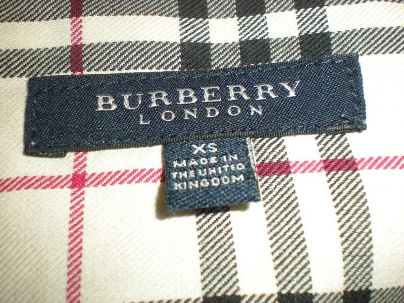 come ricosconoscere un burberry originale