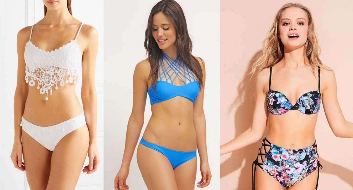 Costumi da bagno bikini: i due pezzi di tendenza da non perdere