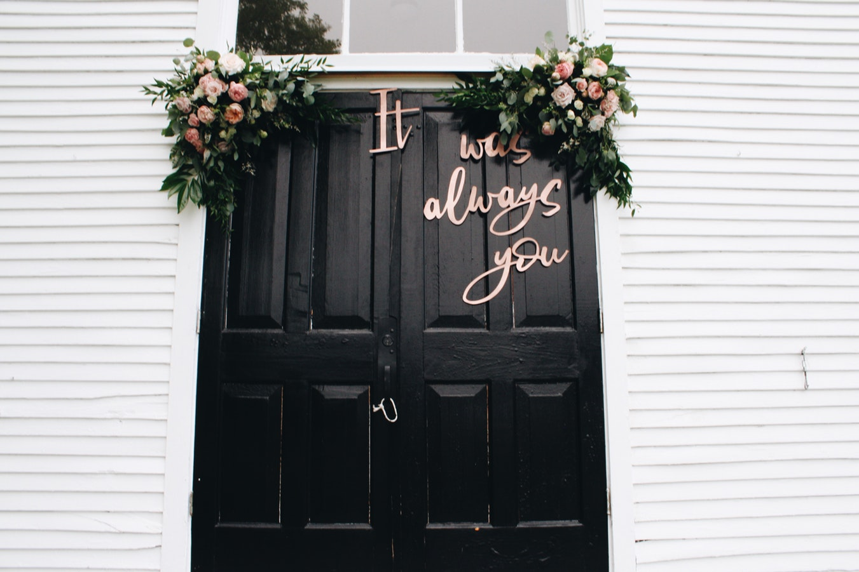 Decorazioni Per Porte Esterne come decorare la casa per un matrimonio: idee originali e