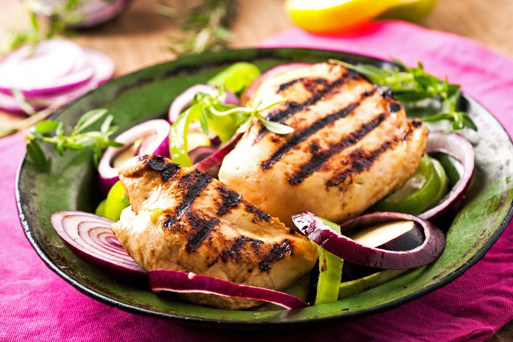 petto di pollo grigliato