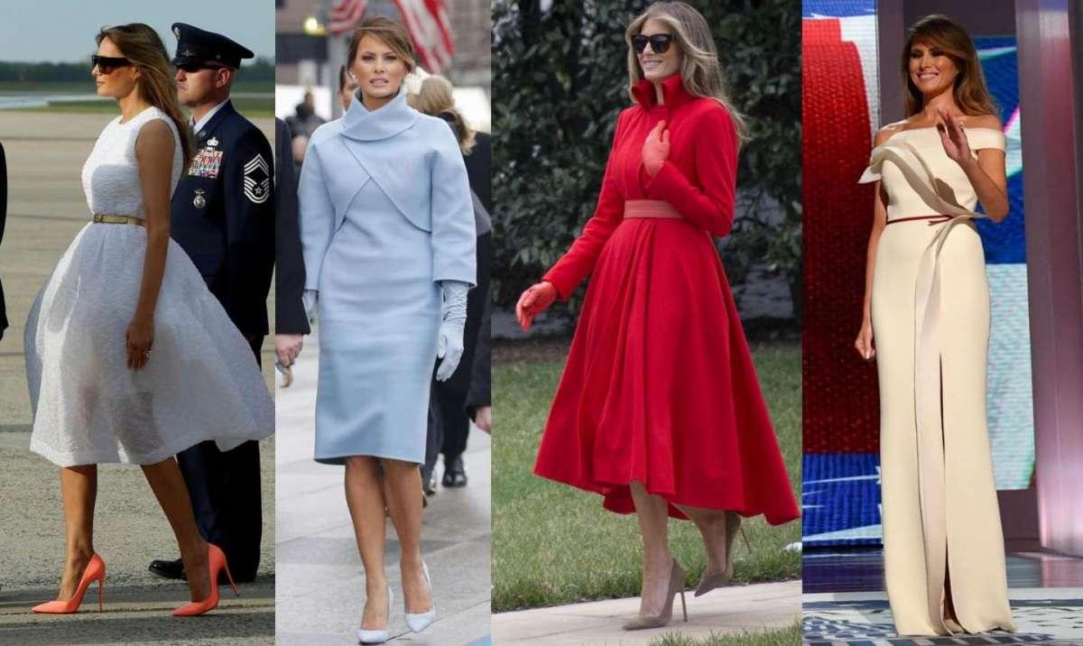 Gli abiti di Melania Trump