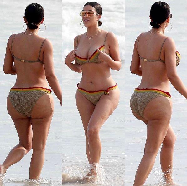 Kim Kardashian con la cellulite: il lato B senza Photoshop