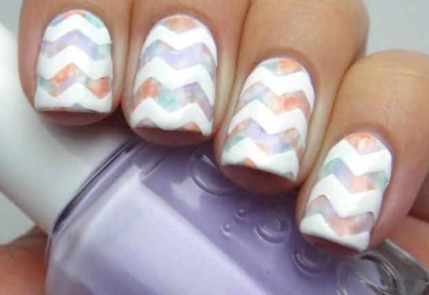 manicure per unghie corte