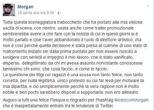 morgan amici facebook