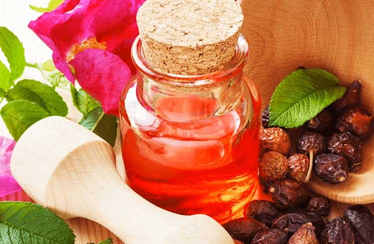 potente antirughe naturale olio di rosa mosqueta