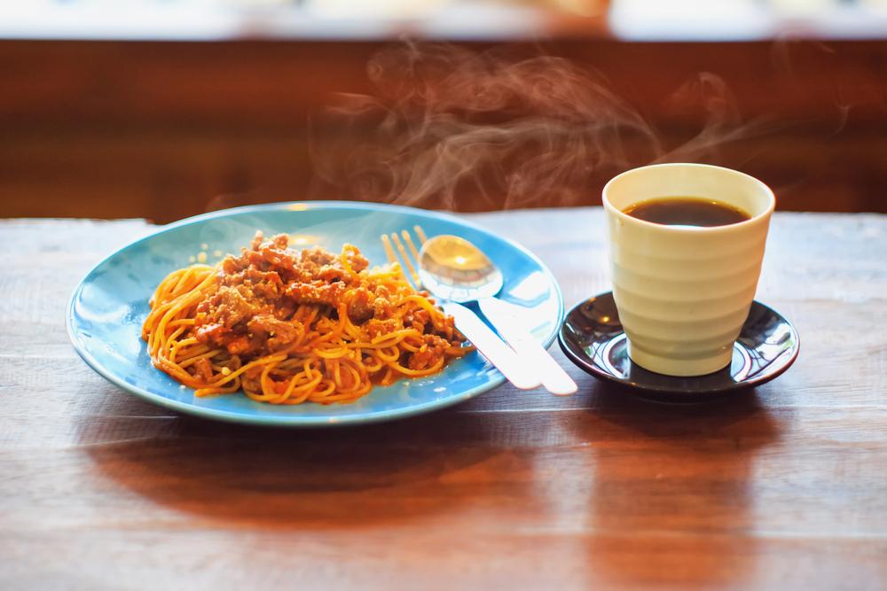 spaghetti e caffè