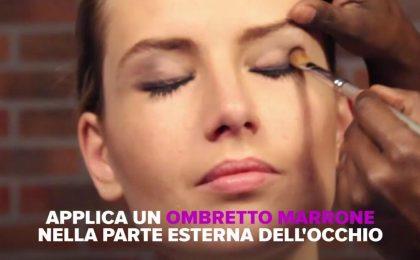 Trucco occhi piccoli, il tutorial per valorizzarli con il make up
