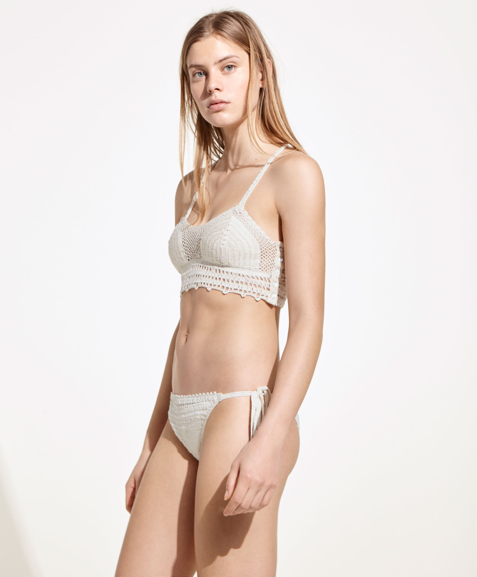 Bikini all'uncinetto Oysho