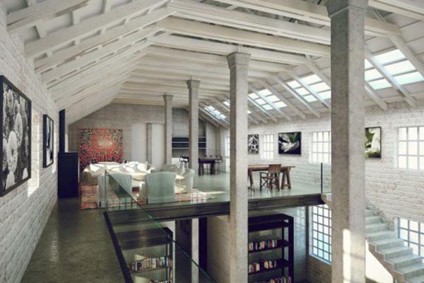 Loft in stile newyorkese