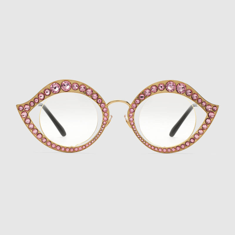 Occhiali da sole cat eye Gucci