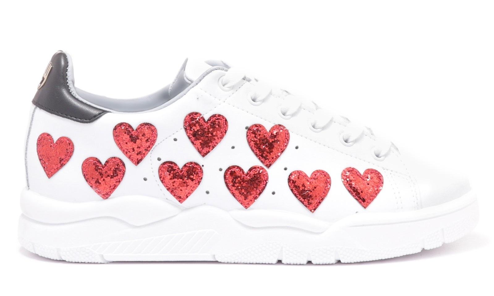 Sneakers con cuori