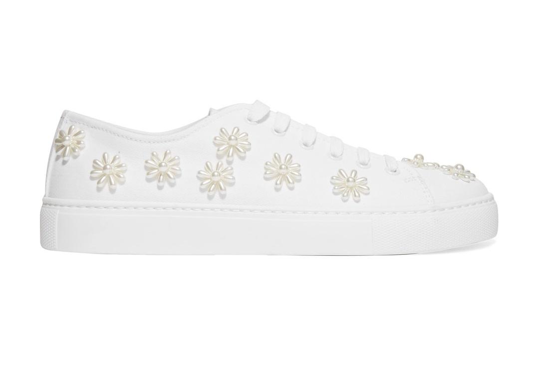 Sneakers con perle Simone Rocha