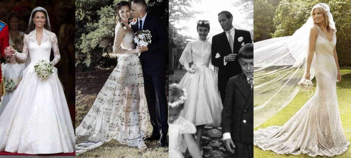 Gli abiti da sposa più belli della storia