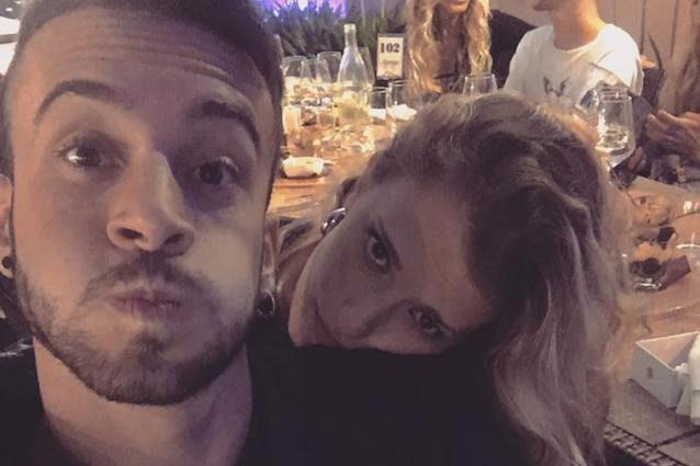 Andreas Muller di Amici, la fidanzata è la ballerina Maria Elena Gasparini