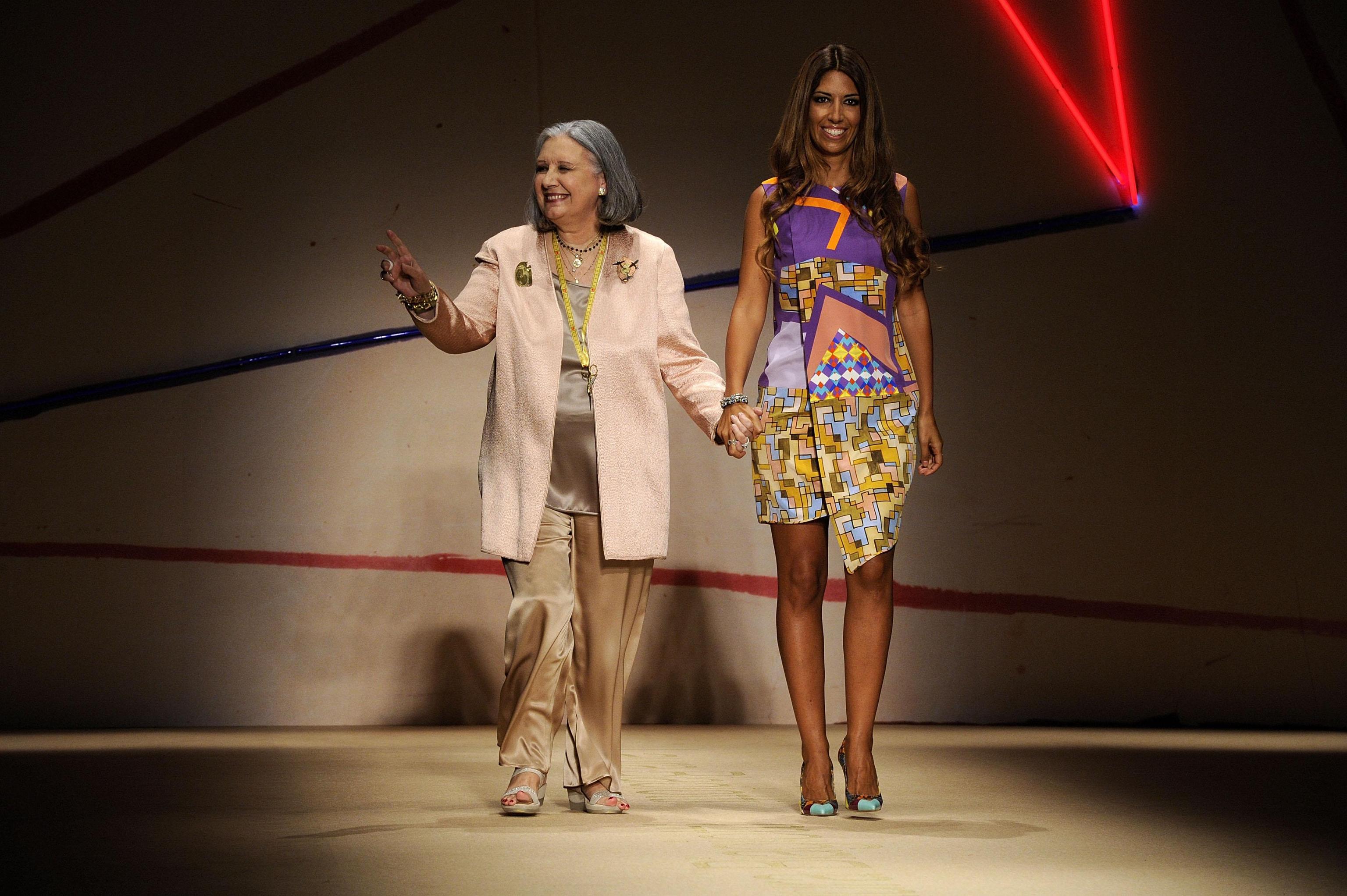 2014 Milan Fashion Week, Laura Biagiotti
