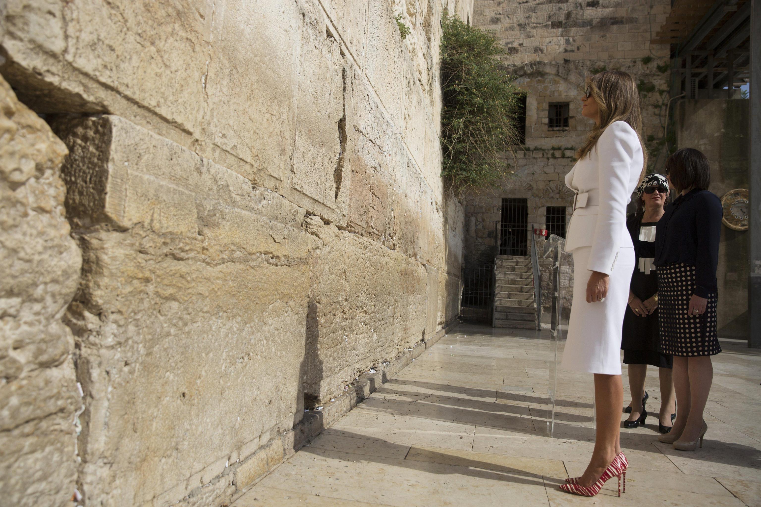 US President Trump in Israel
