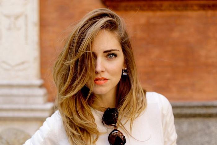 beauty routine chiara ferragni