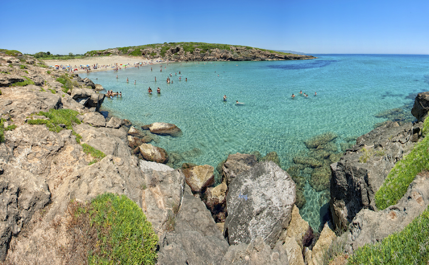 calamosche beach in Sicily Italy