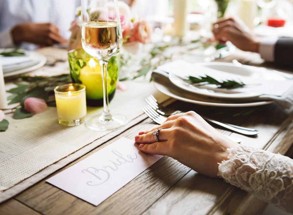 Decorazioni tavoli matrimonio