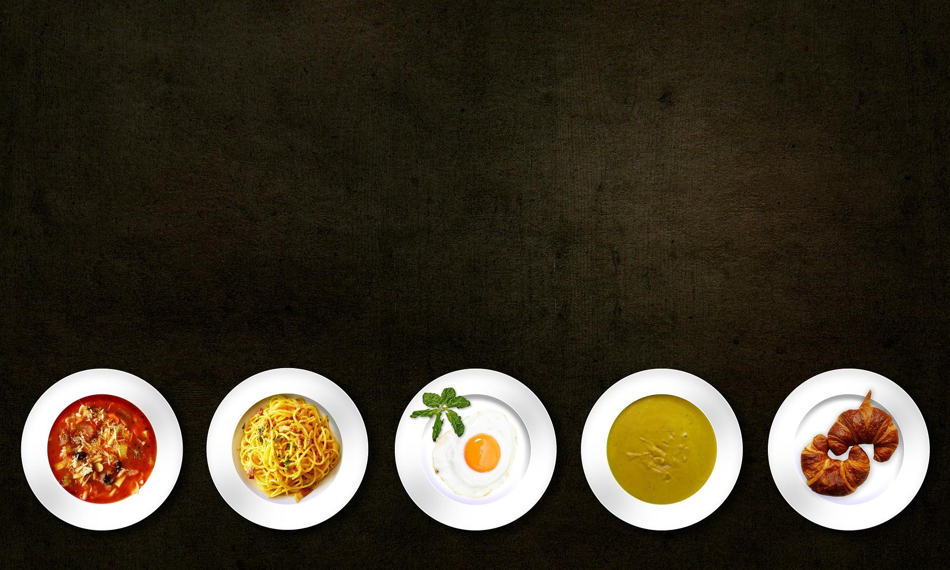 menu del gruppo 0, A, B e AB