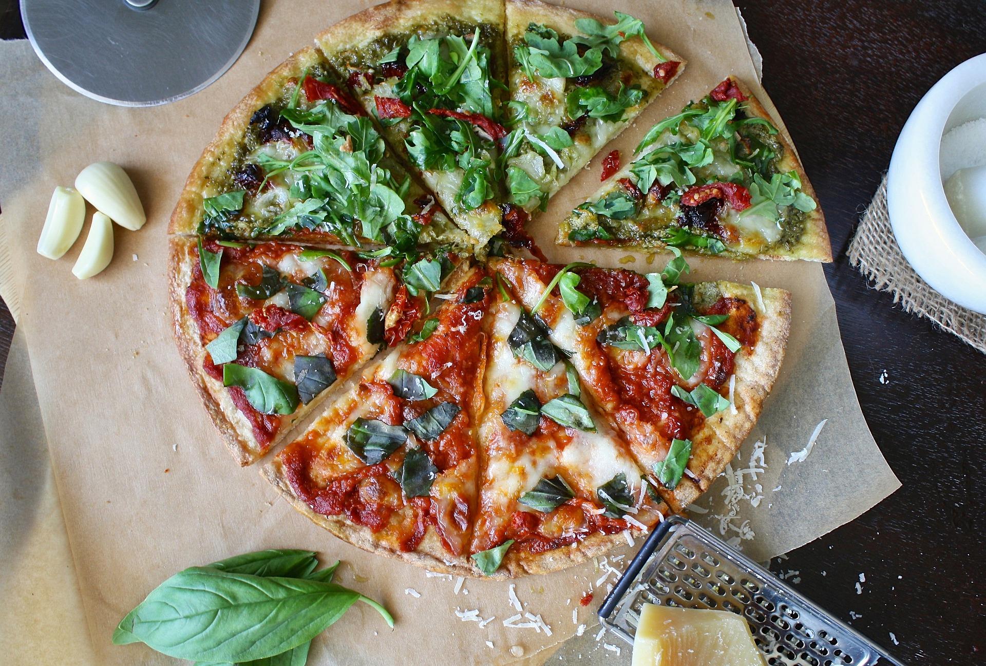 dieta pizza menu