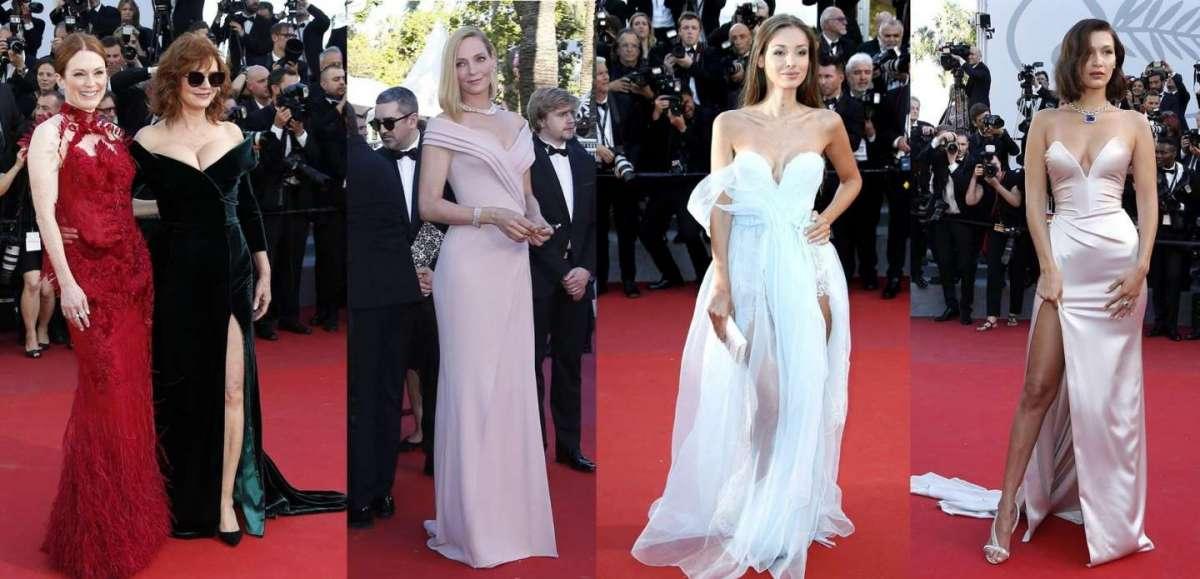 Cannes 2017: gli outfit delle star sul red carpet