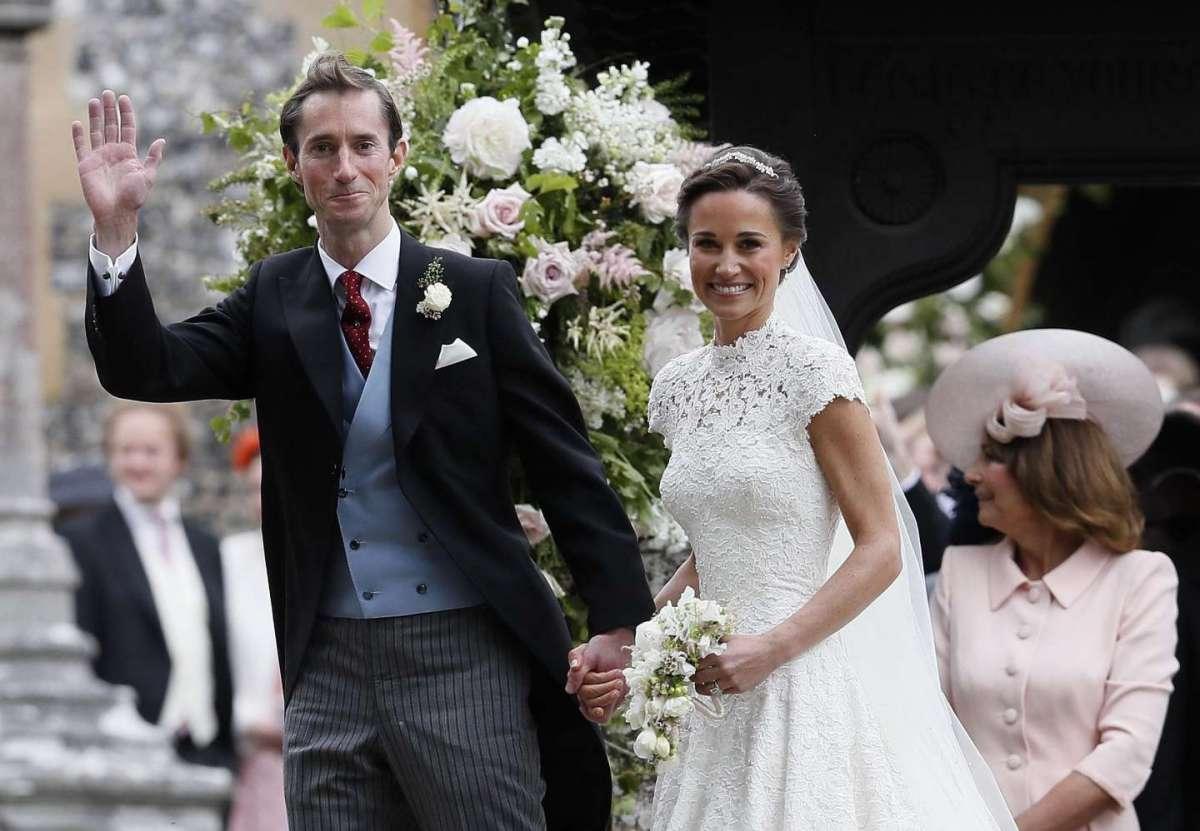 Matrimonio Di Pippa : Il matrimonio di pippa middleton la diretta e le foto della sposa