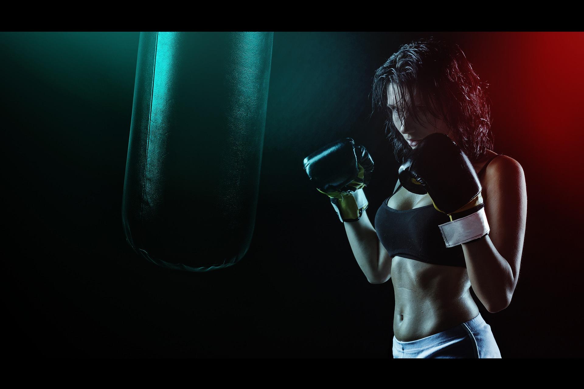 kick boxing femminile benefici