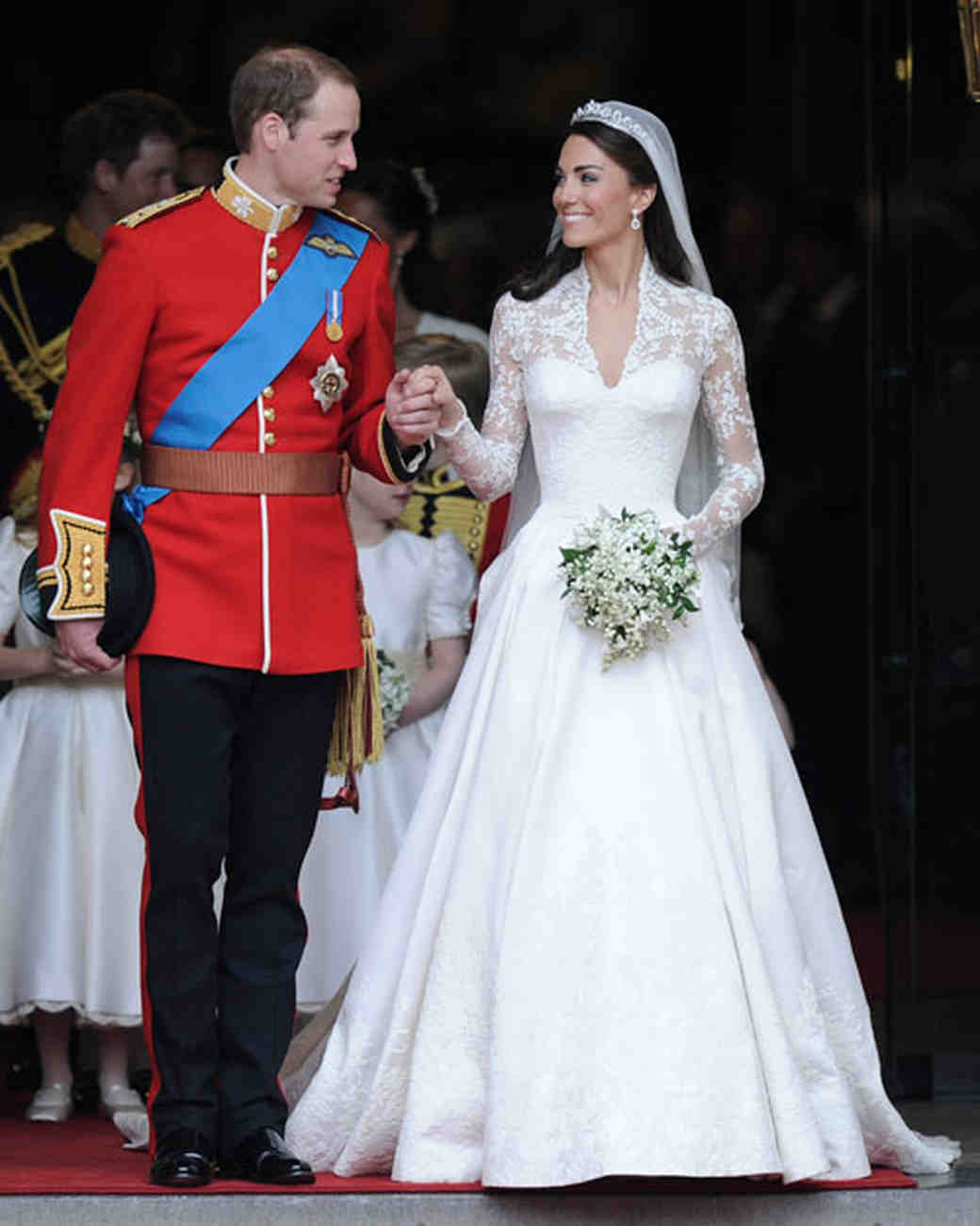 l'abito da sposa di kate middleton